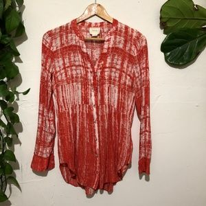 Anthropologie Maeve Long Sleeve Button Down 6